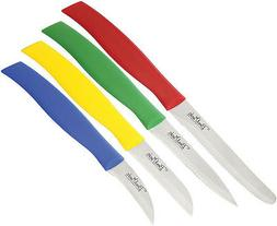 Benchmark 083 Kitchen Knives Paring Multi Colored Set Of 4