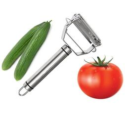 2 in 1 Stainless Steel Tomato Peeler Multifunctional Julienn
