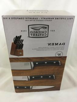 Chicago Cutlery 1109822 14-Piece Damen Knife Set