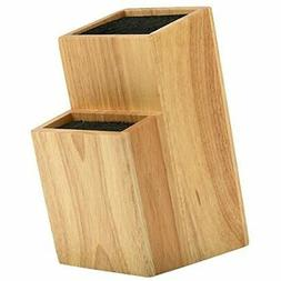 Mantello 2 Tier Universal Wood Knife Block Knife Holder Stor