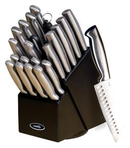 22 Piece Professional Knife Block Set Chef Kitchen Baldwyn K