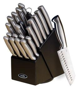 22 Piece Professional Knife Block Set Chef Kitchen Baldwyn K
