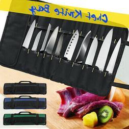 22 Pocket Chef Knife Bag Roll Bag Carry Case Bag Kitchen Coo
