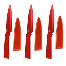 Kuhn Rikon 26541-KUHN Colori Utility Knife  - Set of Three
