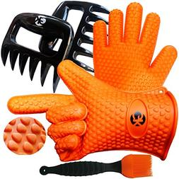 3 x No.1 Set: The No.1 Silicone BBQ /Cooking Gloves Plus The