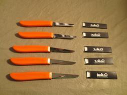 30 Ginsu Quikut Stainless Kitchen Pairing Knives-Brand New-F