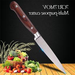 """5""""inch 7CR17MOV Red Color Wood Handle Multi Function <font><"""