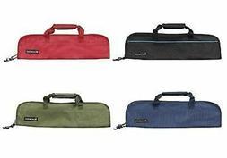 Messermeister 5 Pocket Padded Knife Storage Roll / Bag - Bla