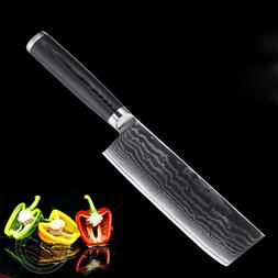 6.5 inch Chef Knife Japanese Damascus VG-10 Steel Kitchen Kn