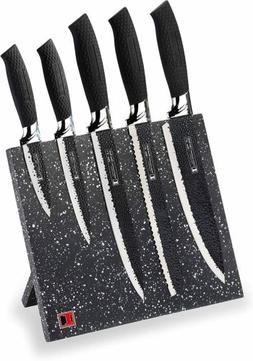 Imperial Collection 6 Piece Stainless Steel Knife Set with M