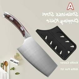 7 inch Stainless Steel Kitchen Chopping Knife Meat Cleaver R