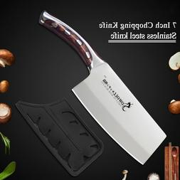 7inch Kitchen Chef Chopping Knife Resin Fibre Handle Stainle