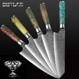 8.2'' Damascus Kitchen Knives vg10 Japanese Damascus Steel C