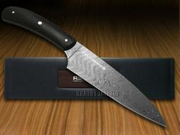 BOKER PURE Premium Kitchen Cutlery Bog Oak Wood Damascus Uti