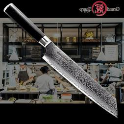 Chef Knife Damascus Kiritsuke 210mm VG10 Japanese Steel Mast