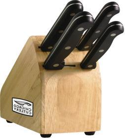 Chicago Cutlery Essentials High-Carbon Blade Knife Set