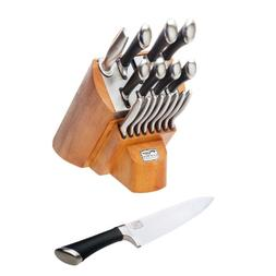 Chicago Cutlery Fusion Knife Block Set 1090390, 18-Pieces, S