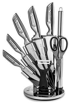 Imperial Collection KST12 9-Piece Stainless Steel Kitchen Cu