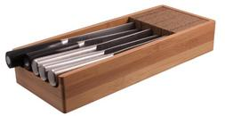 Knifedock - In-drawer Kitchen Knife Storage - The Cork Compo