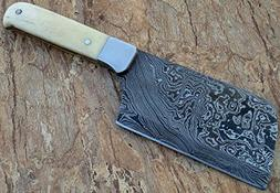 Limited Stock - RT-09, Handmade Damascus Steel Cleaver Knife