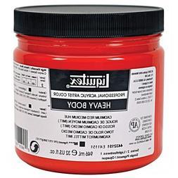Liquitex Professional Heavy Body Acrylic Paint 32-oz jar, Ca