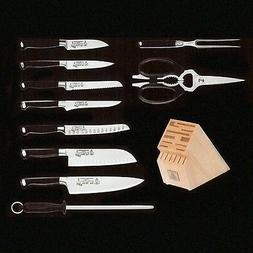 Messermeister San Moritz Elite 11-Piece Knife Block Set