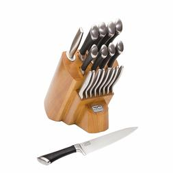 NEW! Chicago Cutlery 1119644 Fusion Forged 18Piece Knife Blo