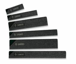 New Mundial Knife Blade And Edge Guards Set Of 6 For Kitchen