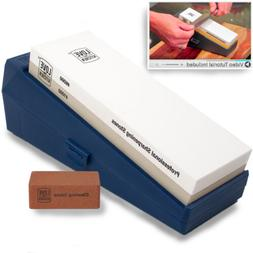 Professional Knife Sharpening Stone Kit Grits 1000 6000 - Ch