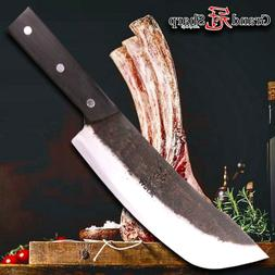Traditional Chinese Knife Handmade Clad Steel Kitchen Knives