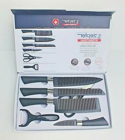 Zepter International 6 Pc Kitchen Knife Set Quality Swiss Ch