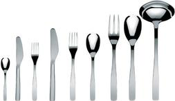 "A Di Alessi""Knifeforkspoon"" 75-Piece Set, Includes Twelve Ta"