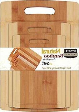 NEW Bamboo Cutting Board Totally Kitchen Wood Chopping Board