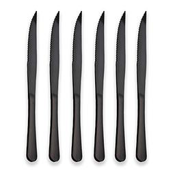 Berglander Black Titanium Plating Stainless Steel Steak Kniv
