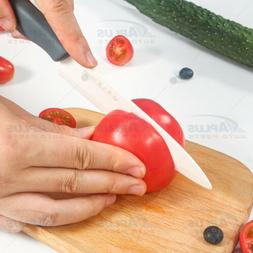 Blade Sharp Ceramic Knife Kitchen Black Silicone Handle With