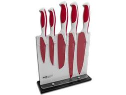 BOKER COLORCUT Raspberry Red Stainless Kitchen Cutlery Set K
