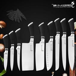 Sowoll Brand 9 Pcs <font><b>Kitchen</b></font> <font><b>Kniv