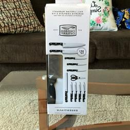 Brand New in Box Chicago Cutlery Essentials 15-piece set,Kit