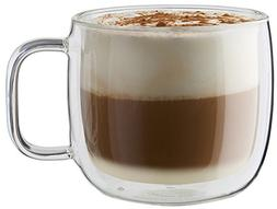 ZWILLING J.A. Henckels 39500-094 Cappuccino Mug Set, Clear