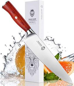 Chef Knife High Carbon Steel | Sharp Kitchen Knife with Uniq