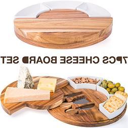 Shanik Cheese Cutting Board Set - Charcuterie Board Set and