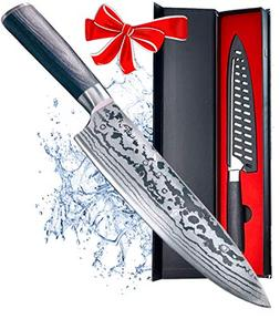 Maxblademark 8 Inch Chef Knife, Pro Kitchen Chef's Knife,