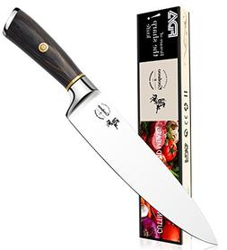 Chef Knife, 8 Inch Kitchen Knife, Quality Professional Germa