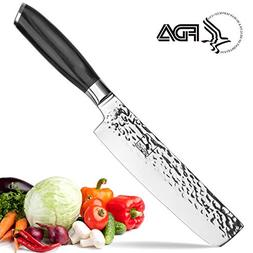 Imarku Pro Chef's Knife,7-Inch High Carbon Stainless Steel N