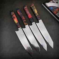 Chef Knife Damascus Kitchen Knives vg10 Japanese Damascus St
