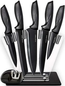 chef knife set knives kitchen set 7