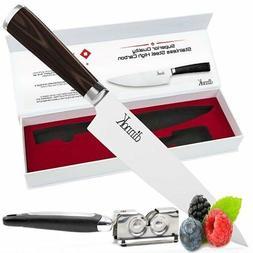 Professional 8 Inch Chef Knife Set – Ultra Sharp, High Car
