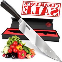 MasterGO Kitchen 8inch Chef Knife - Super Sharp Knife - Cook