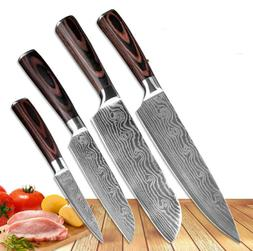 Chef knives set stainless steel Kitchen