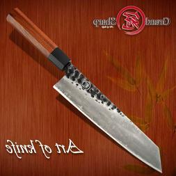 Chef's Knife 3 Layers AUS-10 Steel 9 inch Japanese Kiritsuke